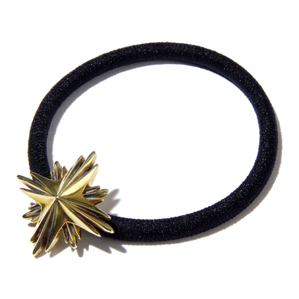 HAIR RUBBER BAND LARGE -STARBURST