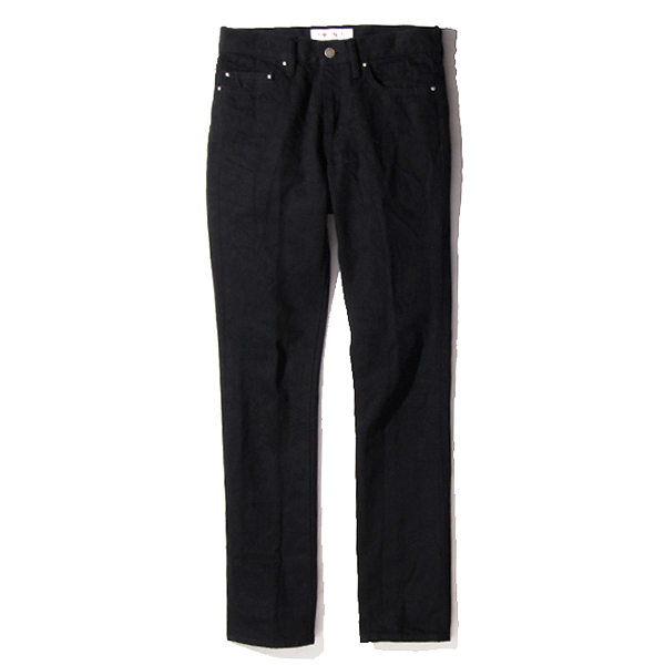 LADIES RIGID DENIM PANTS - ONE WASH