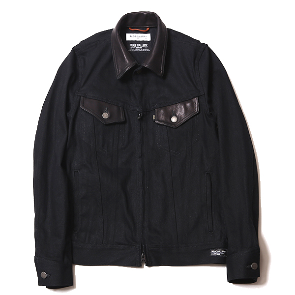 RIGID TYPE-2 DENIM JACKET - SPADE WAPPEN