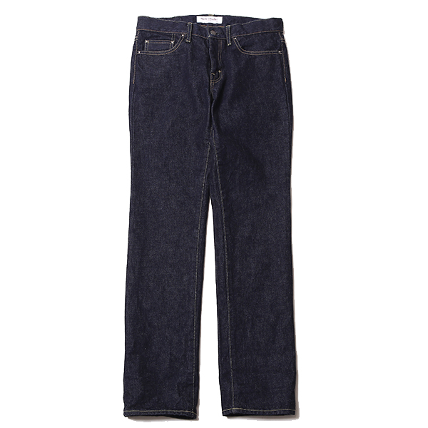 LADIES RIGID DENIM PANT - STRAIGHT, ONE WASH