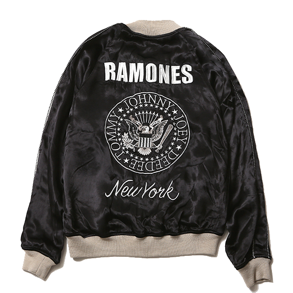 RAMONES MEETS RUDE GALLERY SOUVENIR JACKET