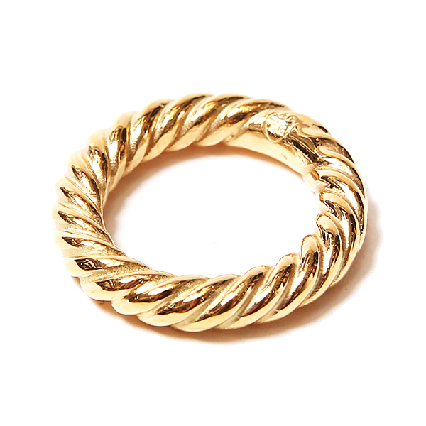 TWIST RING - GOLD COATING