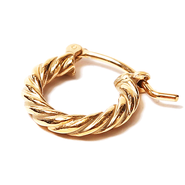 TWIST PIERCE - GOLD COATING