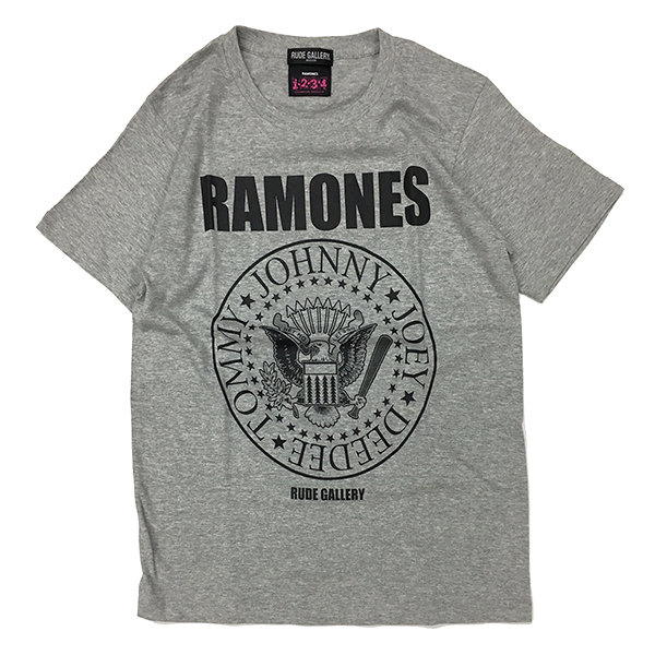RAMONES MEETS RUDE GALLERY TEE