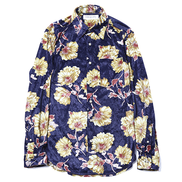 VELOUR SHIRT – FLOWER