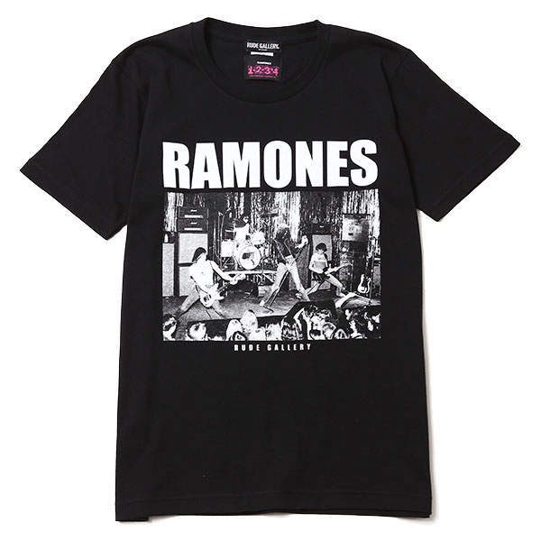RAMONES MEETS RUDE GALLERY TEE - PHOTO