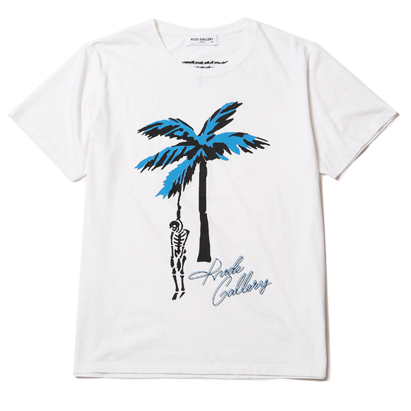 HOTEL FLAMINGO TEE - PALM TREE SKULL