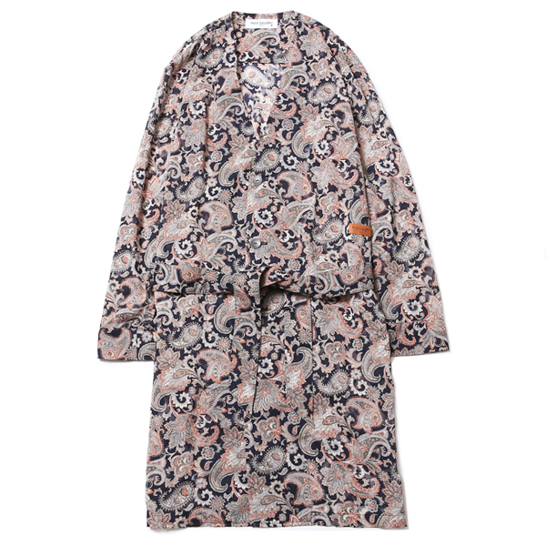 NO COLLAR ROBE - PAISLEY