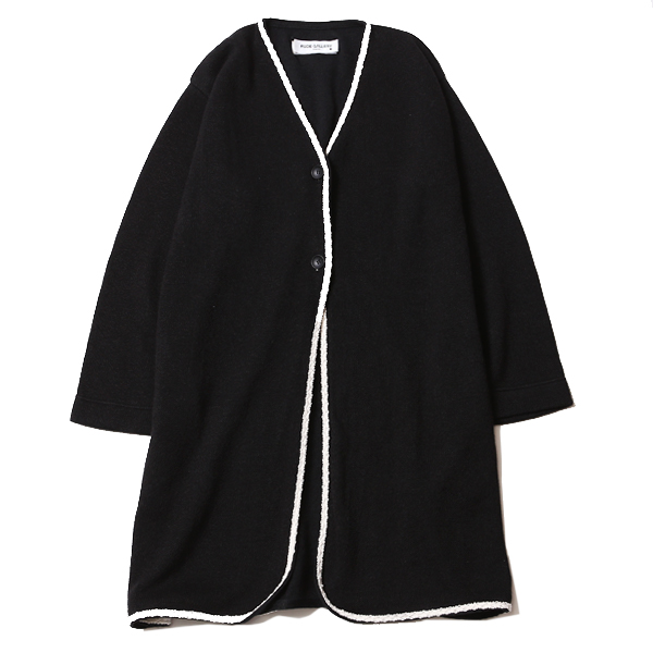 KNIT NO COLLAR ROBE