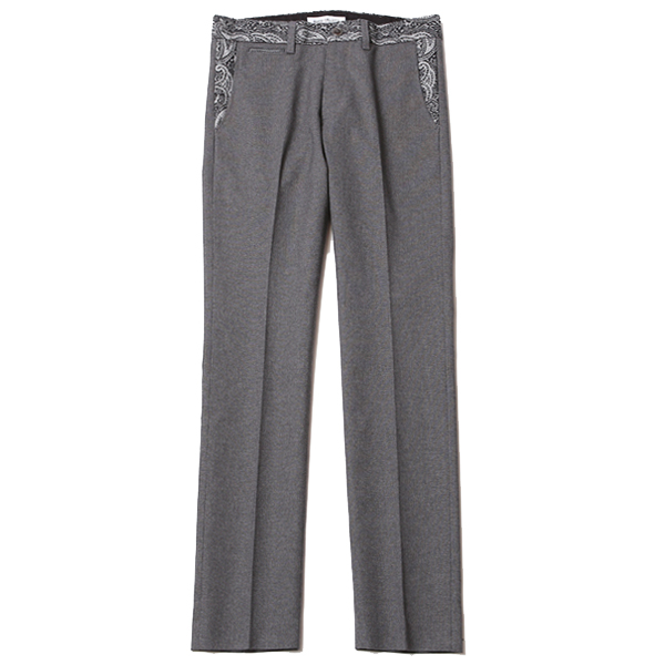 HOPSACK TROUSERS – PAISLEY