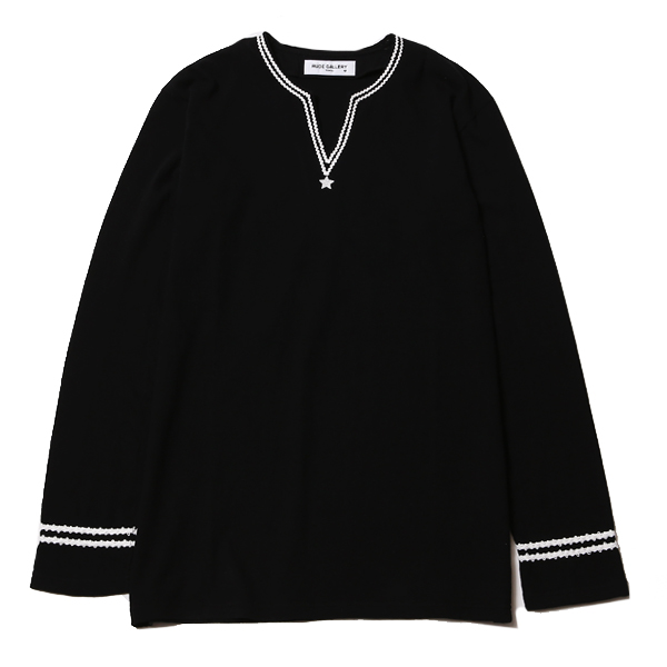 HIP STAR V-NECK L/S