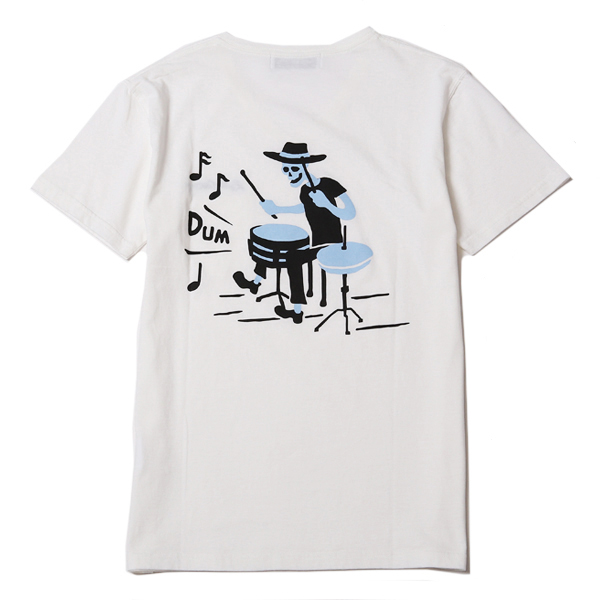 DEADLY DANCE PARTY TEE - DRUM