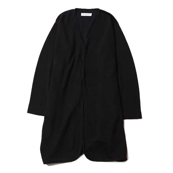 KNIT NO COLLAR ROBE - LADIES