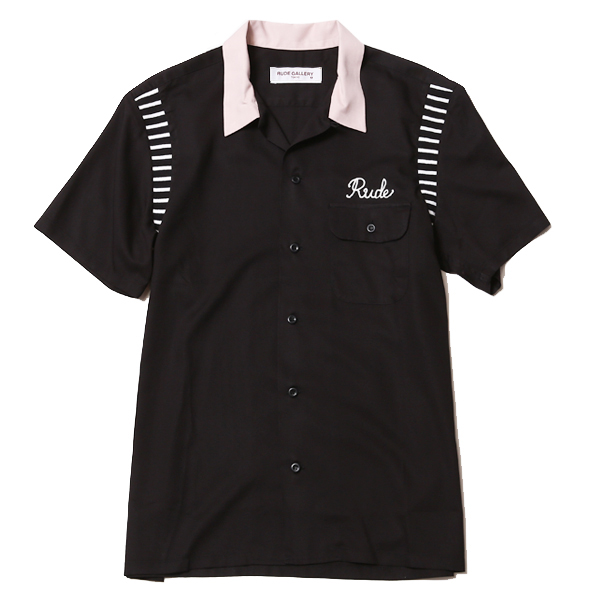 RIB BOWLING SHIRT - LADIES