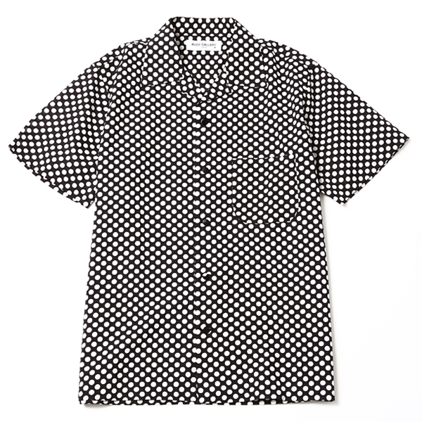 OPEN COLLAR SHIRT - DOT