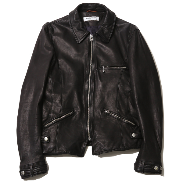 SINGLE RYDERS JACKET - STEERHIDE