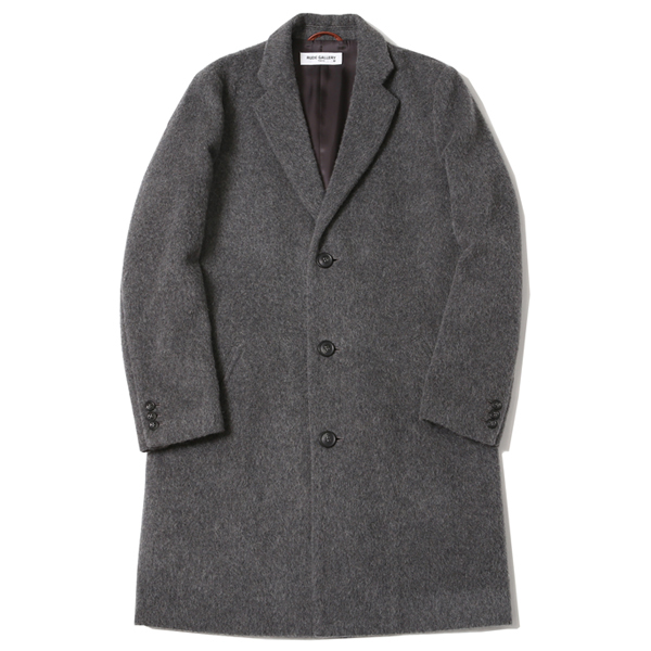 CHESTER FIELD COAT - ALPACA SHAGGY