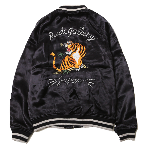 """STONED TIGER × MARIA SOUVENIR JACKET"""