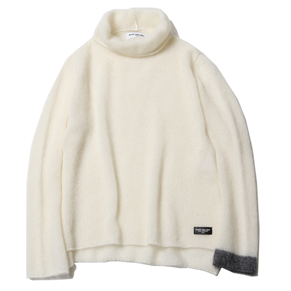 MOHAIR TURTLENECK KNIT