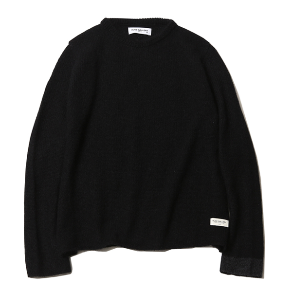 MOHAIR CREW NECK KNIT