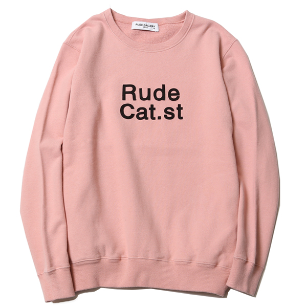RUDE CAT st. CREW NECK SWEAT