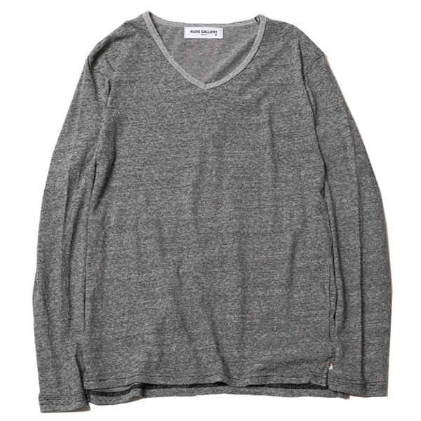 V-NECK L/S - BODY GARD COLLABORATION