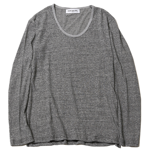 U-NECK L/S - BODY GARD COLLABORATION
