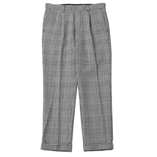 TUCK TROUSERS - WOOL