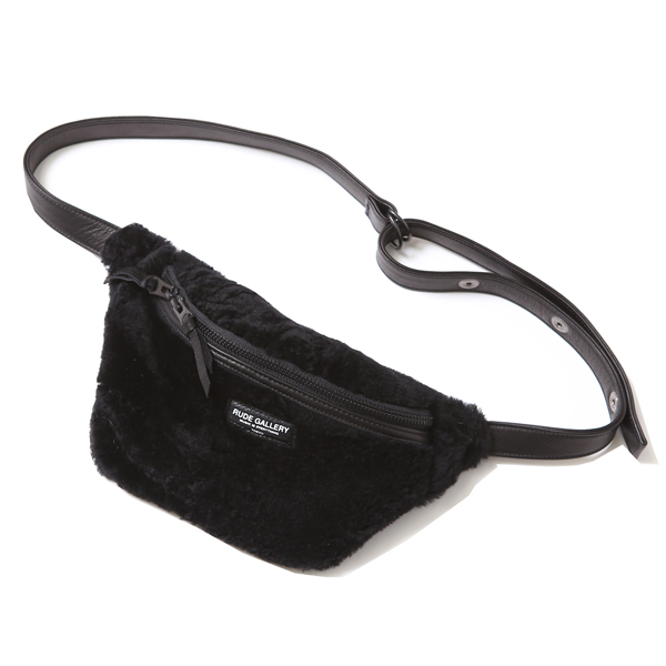 BLACK SHEEP WAIST BAG - SCRAP MOUTON