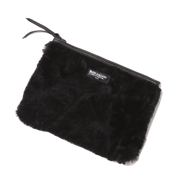 BLACK SHEEP STUDIO POUCH - SCRAP MOUTON