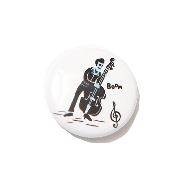 CAN BADGE - BASS