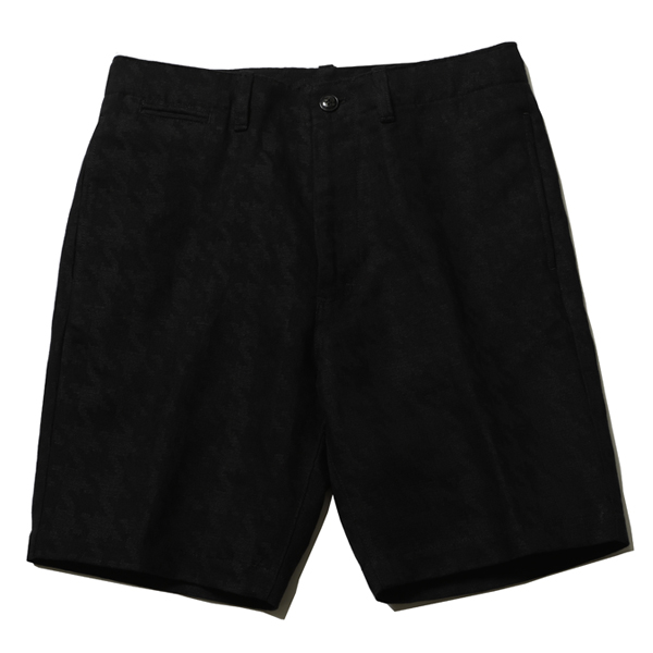 HIGH ROLLERS SHORT PANTS - HOUNDS TOOTH PATTERN