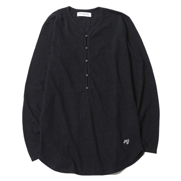 HENLEY NECK CUT SEW
