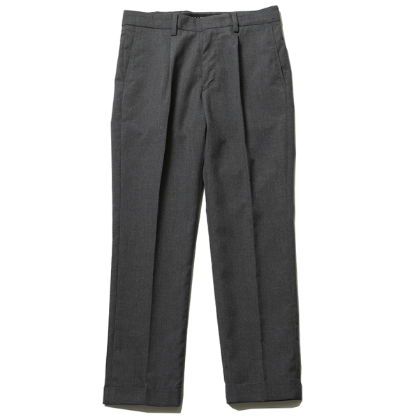 TUCK TROUSERS
