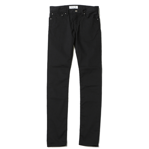 STRETCH SKINNY PANTS - Brushed back / ルードギャラリー
