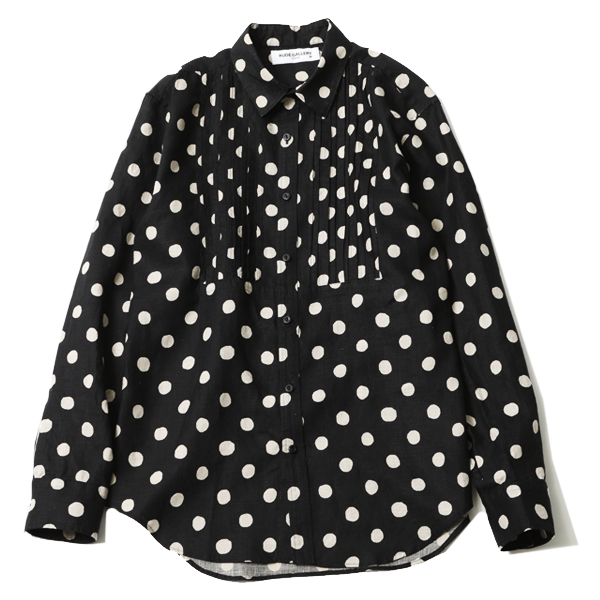 DOT PINTUCK SHIRT