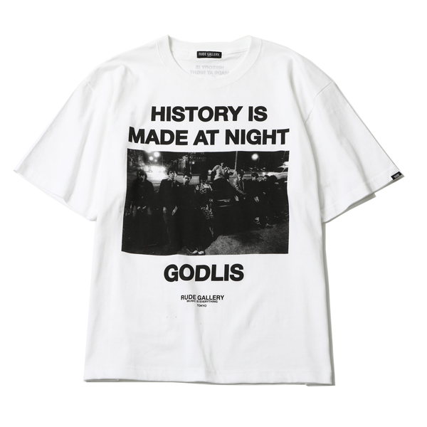 HISTORY IS MADE AT NIGHT BIG SILHOUTTE TEE