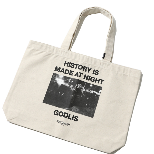 HISTORY IS MADE AT NIGHT TOTE BAG