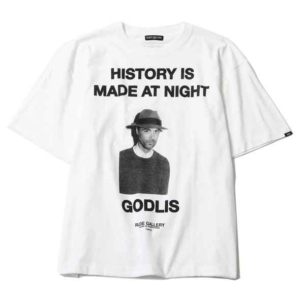 HISTORY IS MADE AT NIGHT BIG SILHOUTTE TEE- DAVID