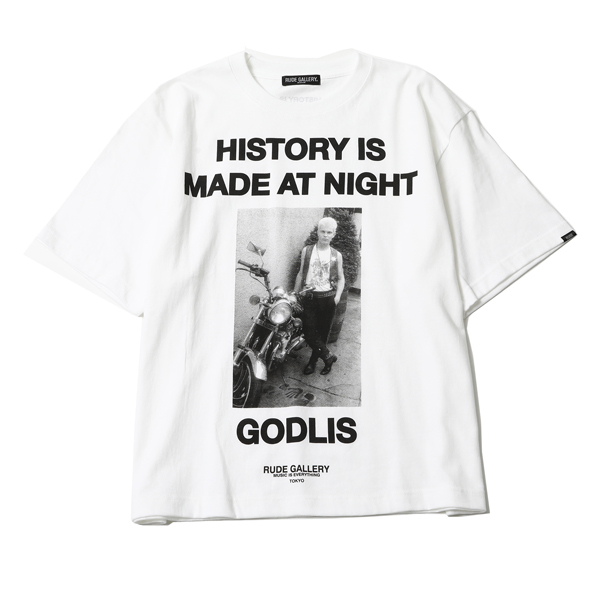 HISTORY IS MADE AT NIGHT BIG SILHOUTTE TEE - BILLY