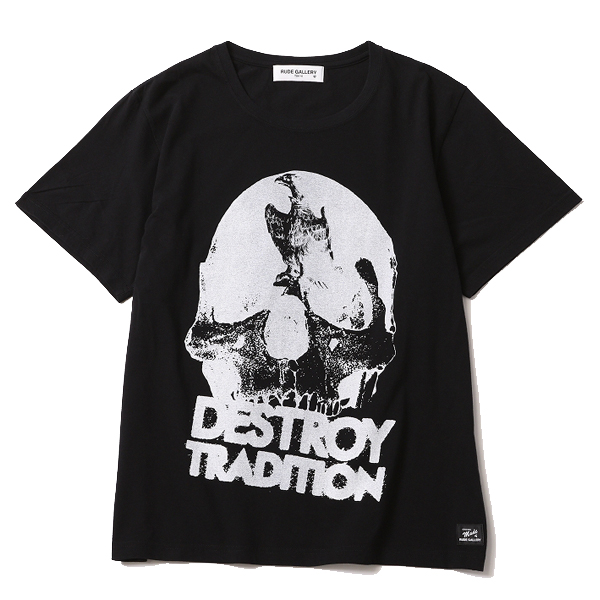 DESTROY TRADITION SKULL BIG SILHOUTTE TEE
