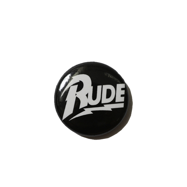 CAN BADGE - RUDE LIGHTNING