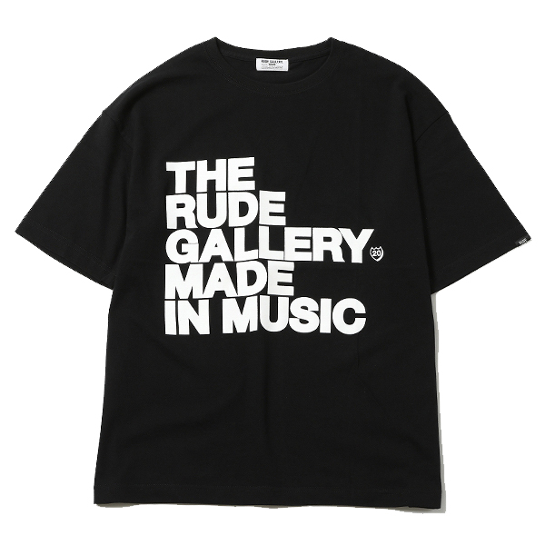 MADE IN MUSIC BIG SILHOUTTE TEE