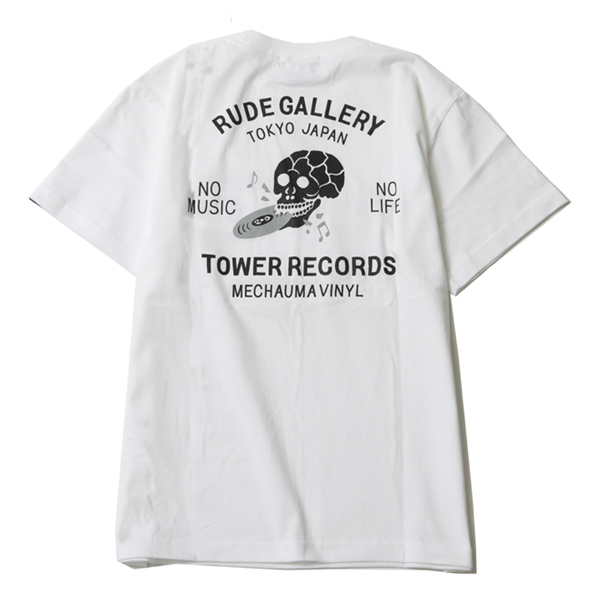 RUDE GALLERY × TOWER RECORDS TEE