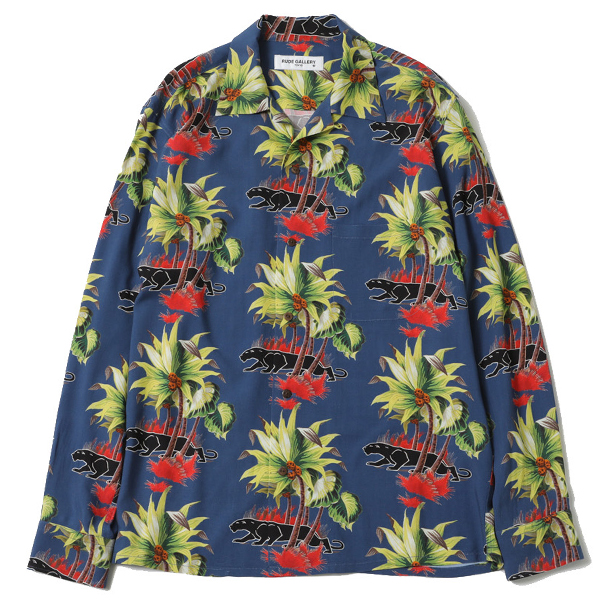 "BLACK PANTHER CAFE ALOHA L/S SHIRT ""REMASTER"""