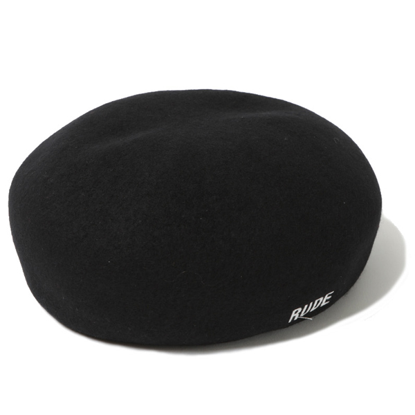 SHRINKAGE WOOL BERET