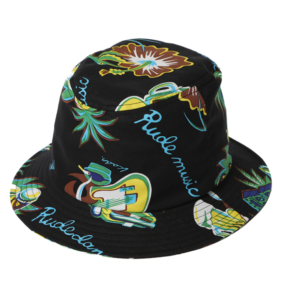 "RUDE MUSIC BUCKET HAT ""REMASTER"""