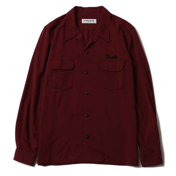 RUDE OPEN COLLAR SHIRT