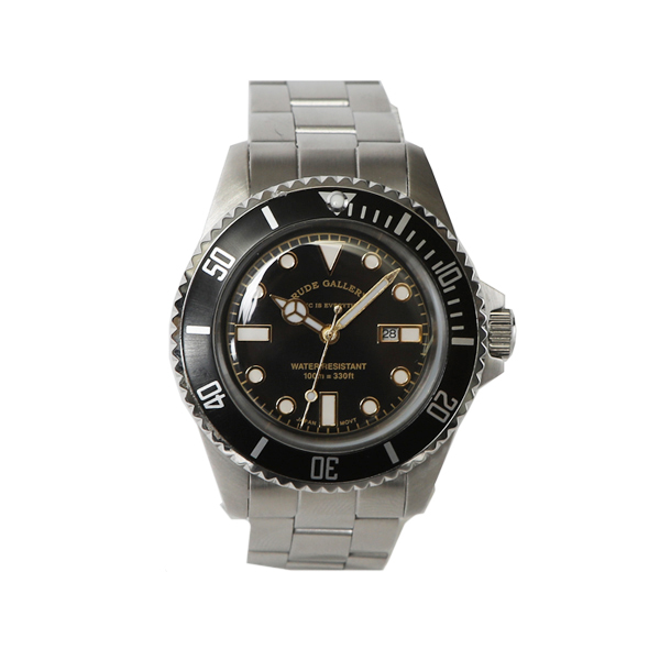 GOOD OLD DIVER WATCH LUXES - STAINLESS STEEL BOY'S