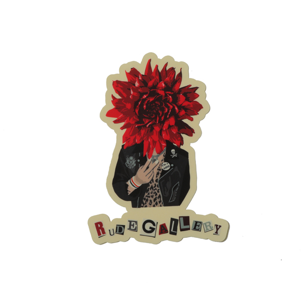 DAHLIA PUNKS STICKER